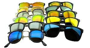 Kit Óculos Solar Sortidos 02 com 12 Peças