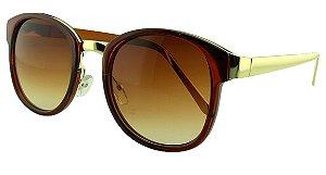 Óculos Solar Feminino Primeira Linha S965 Caramelo