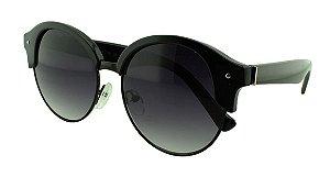 Óculos Solar Unissex Primeira Linha S1816 Preto