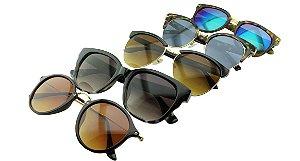 Kit Óculos Solar Sortidos 15 com 5 Peças