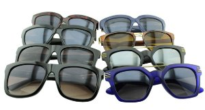 Kit Óculos Solar Sortidos 22 com 8 Peças
