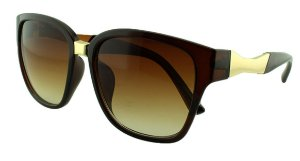 Óculos Solar Feminino Primeira Linha S5224 Marrom Degradê