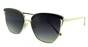 Óculos Solar Feminino Primeira Linha S30072 Preto