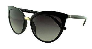 Óculos Solar Feminino Primeira Linha 6113 Preto