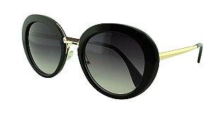 Óculos Solar Feminino Primeira Linha K811 Preto Degradê