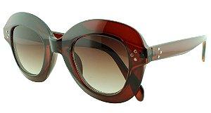 Óculos Solar Feminino Primeira Linha 1742 Caramelo