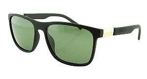Óculos Solar Masculino Primeira Linha Polarizado 18005AZ Preto e Verde