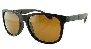 Óculos Solar Masculino Primeira Linha Polarizado 18006AZ Marrom