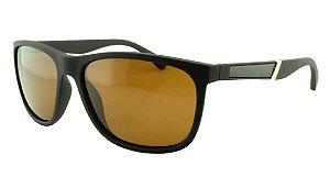 Óculos Solar Masculino Primeira Linha Polarizado 18001AZ Marrom
