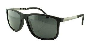 Óculos Solar Masculino Primeira Linha Polarizado 18007AZ Preto