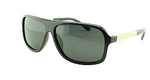 Óculos Solar Masculino Primeira Linha Polarizado 18003AZ Preto