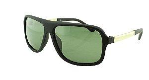 Óculos Solar Masculino Primeira Linha Polarizado 18003AZ Preto e Verde