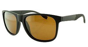 Óculos Solar Masculino Primeira Linha Polarizado 18008AZ Marrom