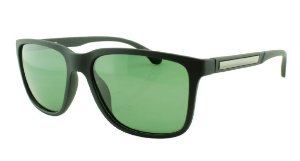 Óculos Solar Masculino Primeira Linha Polarizado 18004AZ Preto e Verde