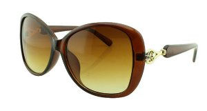 Óculos Solar Feminino NY18067 Marrom Degradê