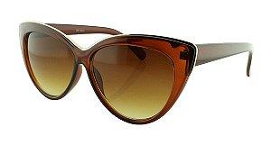 Óculos Solar Feminino NY18131 Marrom Degradê