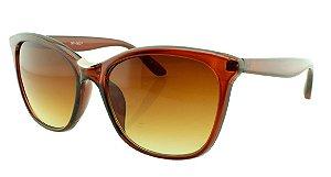 Óculos Solar Feminino NY18127 Marrom Degradê