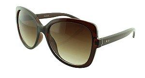 Óculos Solar Feminino NY18151 Marrom Degradê