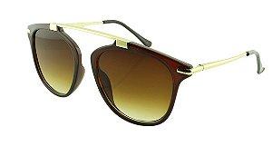 Óculos Solar Feminino VR77181 Marrom Degradê