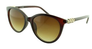 Óculos Solar Feminino NY18075 Marrom Degradê