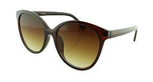 Óculos Solar Feminino NY18155 Marrom Degradê