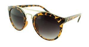 Óculos Solar Feminino VR77258 Mesclado Laranja