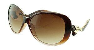 Óculos Solar Feminino DS13 Marrom