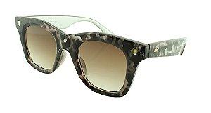 Óculos Solar Feminino Primeira Linha 40057 Mesclado Onça