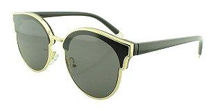 Óculos Solar Feminino Primeira Linha VR72538 Preto