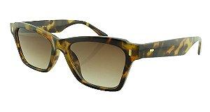 Óculos Solar Feminino Primeira Linha 40058S Marrom Onça