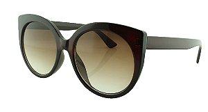 Óculos Solar Feminino Primeira Linha S0325 Marrom Degradê