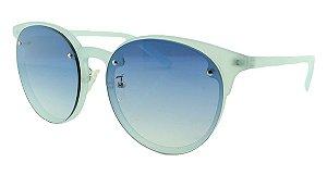 Óculos Solar Unissex 5696 Turquesa e Azul