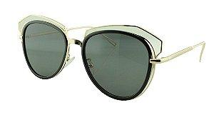 Óculos Solar Feminino Primeira Linha 2208 Preto