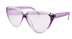 Óculos de Sol Feminino HP0006 Roxo