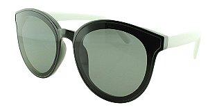 Óculos Solar Feminino 28334 Preto e Branco