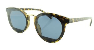 Óculos Solar Feminino B881385 Marrom Onça e Azul