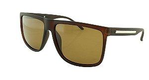 Óculos Solar Masculino Primeira Linha Polarizado P7717 Marrom