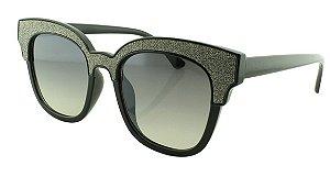 Óculos Solar Feminino B881393 Preto e Grafite