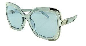 Óculos Solar Feminino Primeira Linha BB8040 Azul
