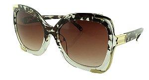 Óculos Solar Feminino Primeira Linha BB8040 Mesclado