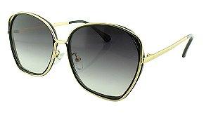 Óculos Solar Feminino Primeira Linha T23 Preto