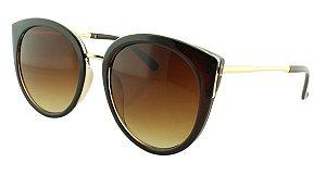 Óculos Solar Feminino 28337 Marrom