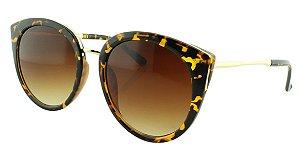 Óculos Solar Feminino 28337 Marrom Onça