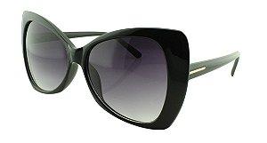 Óculos Solar Feminino E12030 Preto