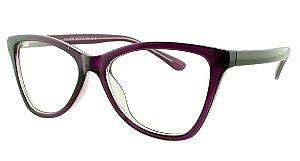 Armação para Óculos de Grau Feminino 33 Roxa