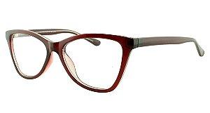 Armação para Óculos de Grau Feminino 33 Vinho