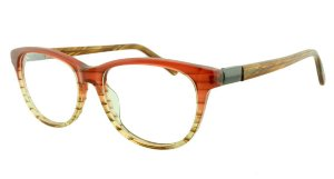 Armação para Óculos de Grau Feminino 8830A Vermelha Degradê