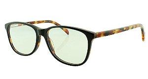 Armação para Óculos de Grau Feminino 8086 Preta Mesclada