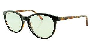 Armação para Óculos de Grau Unissex 8078 Preta Colorida