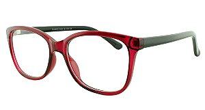 Armação para Óculos de Grau Feminino 25 Rosa e Preto